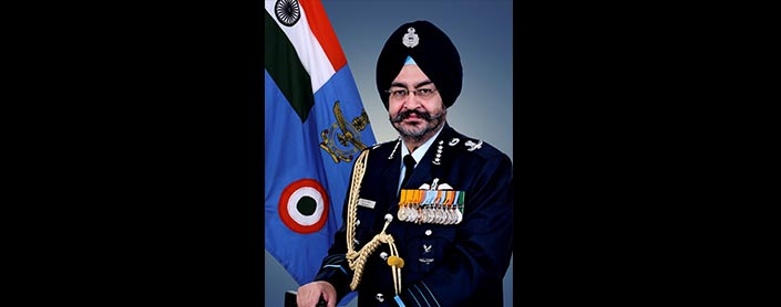 EXCLUSIVE INTERVIEW: AIR CHIEF MARSHAL B. S. DHANOA, CHIEF OF THE AIR STAFF - 15 FEBRUARY 2017 AERO INDIA SPECIAL